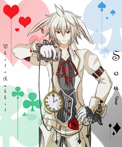 Tags: Anime, Alice in Wonderland, White Rabbit, Pocket Watch