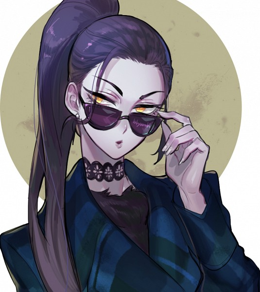 Tags: Anime, H4yarobi, Overwatch, Widowmaker, Eyeliner, PNG Conversion, Fanart, Twitter