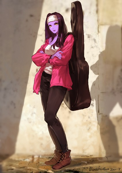 Tags: Anime, daible, Overwatch, Widowmaker, Guitar Case, Instrument Case
