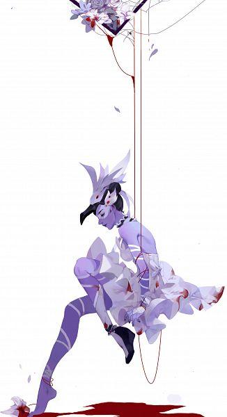 Tags: Anime, Pixiv Id 6596274, Overwatch, Widowmaker, Ballerina Outfit, Ballet, Pixiv, Fanart, Fanart From Pixiv