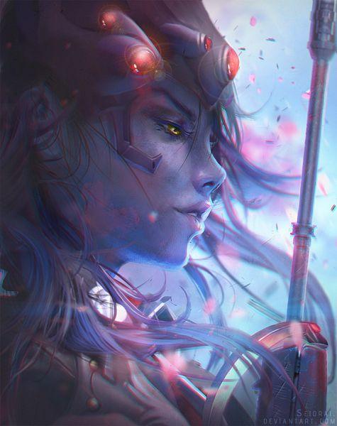 Tags: Anime, Seiorai, Overwatch, Widowmaker, Fanart From DeviantART, deviantART, Fanart