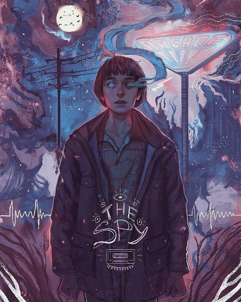 William Byers (Byers William) - Stranger Things