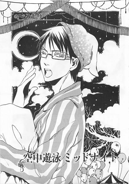 Tags: Anime, Kuroshitsuji, William T. Spears, Fanart, Mobile Wallpaper, Doujinshi Page