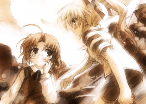 Tags: Anime, Wind -a Breath Of Heart-, Fujimiya Wakaba, Fujimiya Nozomi