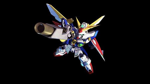 Tags: Anime, Bandai Namco Entertainment, Mobile Suit Gundam Wing, SD Gundam G Generation, Wing Gundam, Wallpaper, Gundams
