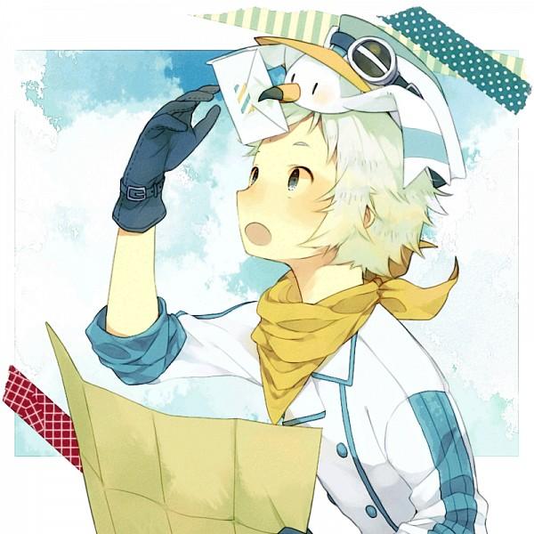 Tags: Anime, Hatoba Hagiwara (Artist), Pokémon, Wingull, Map, Fanart, Pixiv, Fanart From Pixiv
