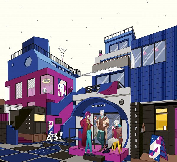 winter troupe a3 image 2732159 zerochan anime. Black Bedroom Furniture Sets. Home Design Ideas