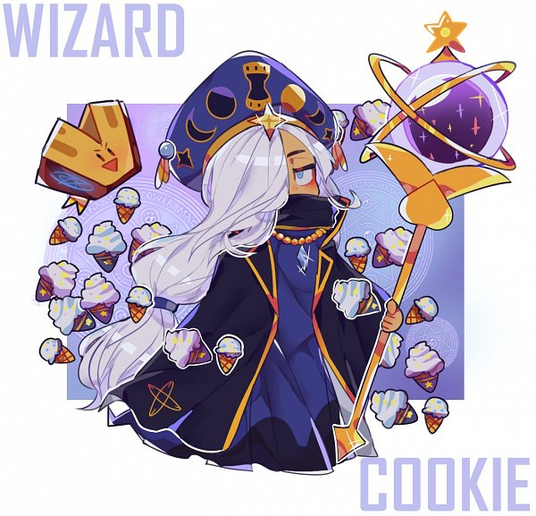 Wizard Cookie (Arcane Mage) - Wizard Cookie
