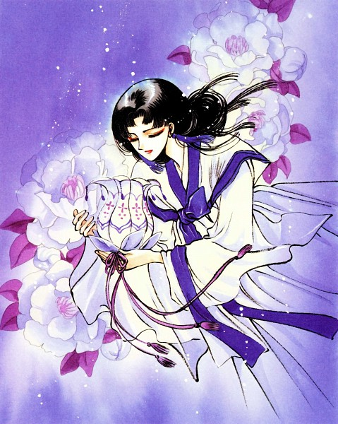 Tags: Anime, CLAMP, Legend of Chun Hyang, Wol Mae, Korean Clothes, Scan, Official Art