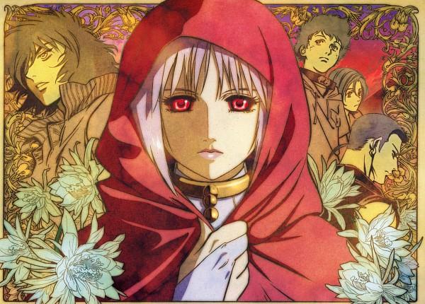Tags: Anime, Wolf's Rain, Cheza, Toboe, Hige, Tsume, Kiba (Wolf's Rain), Chrysanthemum