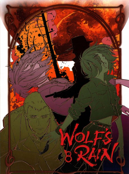 Tags: Anime, Wolf's Rain, Quent Yaiden, Toboe, Hubb Lebowski, Hubb, Official Art