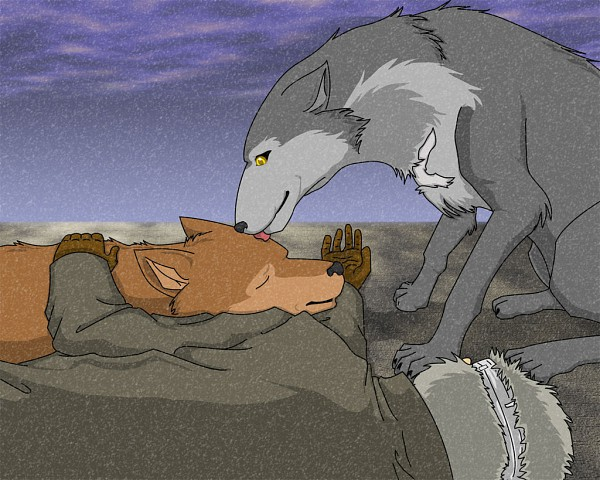 Tags: Anime, Wolf's Rain, Toboe, Tsume, Quent Yaiden, Hunter