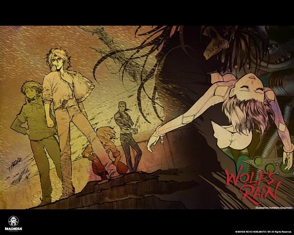 Tags: Anime, Wolf's Rain, Hige, Tsume, Darcia, Kiba (Wolf's Rain), Cheza, Toboe