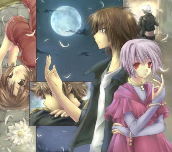 Tags: Anime, Wolf's Rain, Toboe, Hige, Tsume, Kiba (Wolf's Rain), Cheza
