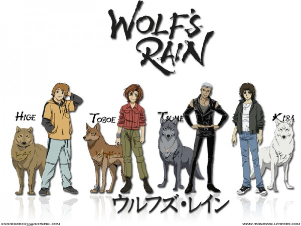 Tags: Anime, Wolf's Rain, Toboe, Hige, Tsume, Kiba (Wolf's Rain)