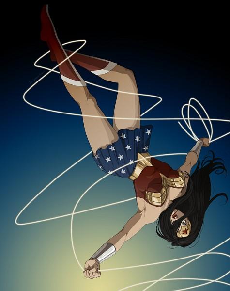 Tags: Anime, Doubleleaf, Wonder Woman, DC Comics
