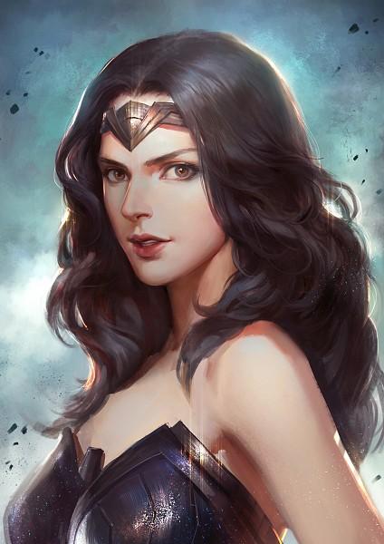 Tags: Anime, Pixiv Id 1417939, Wonder Woman, DC Comics, Pixiv, Fanart From Pixiv, Fanart