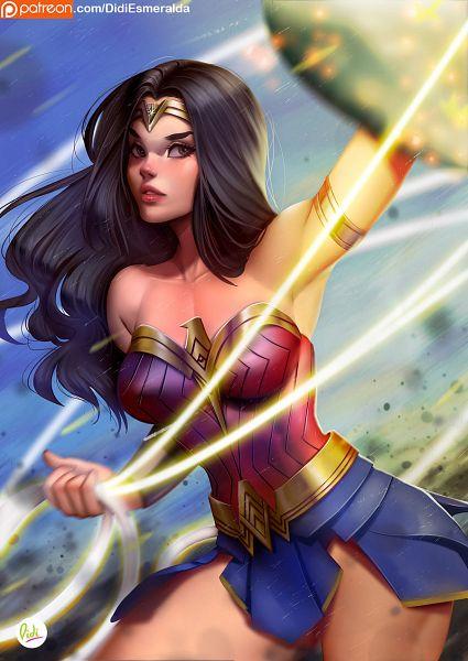 Tags: Anime, Didiesmeralda, Wonder Woman, DC Comics, deviantART, Fanart, Fanart From DeviantART