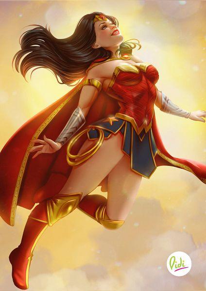 Tags: Anime, Didiesmeralda, Wonder Woman, Lasso, Fanart, Fanart From DeviantART, DC Comics, deviantART