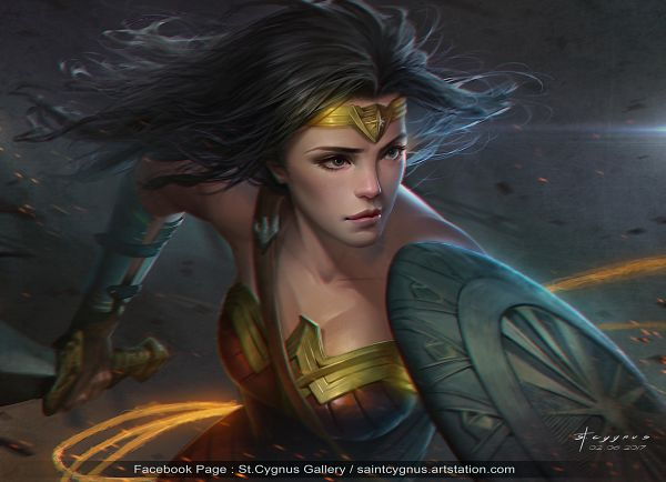 Tags: Anime, Saint Cygnus, Wonder Woman, Lasso, DC Comics, deviantART, Fanart, Fanart From DeviantART