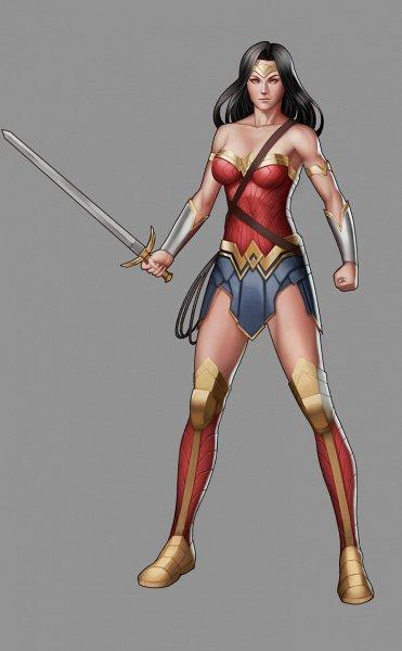 Tags: Anime, Moonarc, Wonder Woman, Lasso, Vector, DC Comics, deviantART