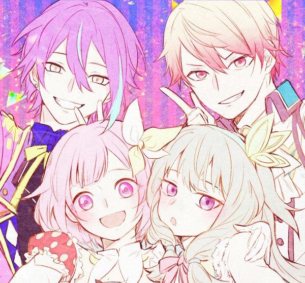 Tags: Anime, Pixiv Id 4551181, Project Sekai Colorful Stage! feat. Hatsune Miku, Tenma Tsukasa, Kusanagi Nene, Otori Emu, Kamishiro Rui, Fanart, Fanart From Pixiv, Pixiv, Wonderlands×Showtime