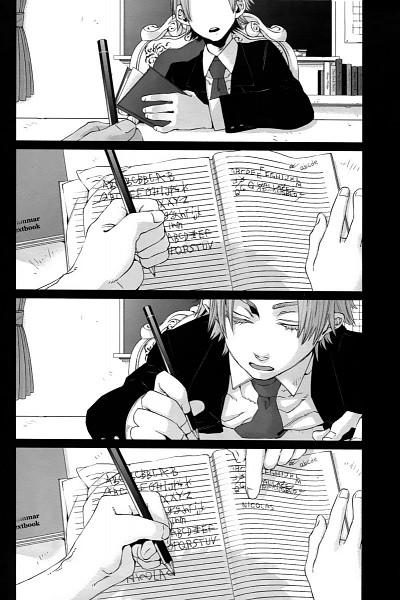 Tags: Anime, Kohsuke, GANGSTA., Worick Arcangelo, Writing, Scan, Official Art, Mobile Wallpaper, Manga Page