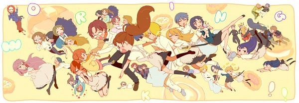 Tags: Anime, Inojita Mukamo, Working!!, Takanashi Kozue, Todoroki Yachiyo, Yamada Aoi, Taneshima Popura, Satou Jun, Takanashi Nazuna, Inami Mahiru, Matsumoto Maya, Takanashi Souta, Takanashi Kazue