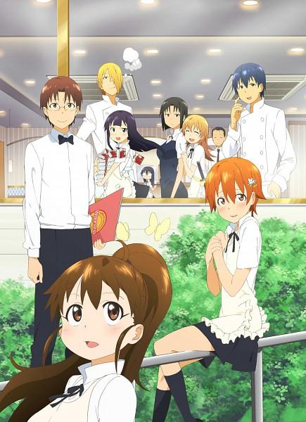 Tags: Anime, Adachi Shingo, Working!!, Takanashi Souta, Otoo Hyougo, Shirafuji Kyouko, Souma Hiroomi, Yamada Aoi, Todoroki Yachiyo, Taneshima Popura, Satou Jun, Matsumoto Maya, Inami Mahiru