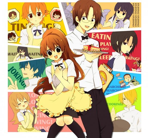 Tags: Anime, Urakata, Working!!, Yamada Aoi, Todoroki Yachiyo, Taneshima Popura, Satou Jun, Inami Mahiru, Takanashi Souta, Matsumoto Maya, Shirafuji Kyouko, Otoo Hyougo, Souma Hiroomi