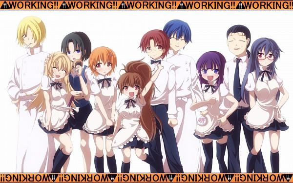 Tags: Anime, Working!!, Todoroki Yachiyo, Taneshima Popura, Satou Jun, Inami Mahiru, Takanashi Souta, Matsumoto Maya, Shirafuji Kyouko, Otoo Hyougo, Souma Hiroomi, Yamada Aoi, Chef Uniform