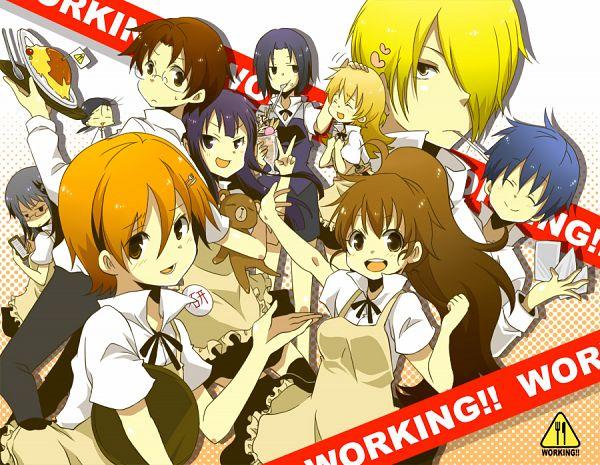 Tags: Anime, Yucco Kxoxc, Working!!, Todoroki Yachiyo, Taneshima Popura, Satou Jun, Inami Mahiru, Takanashi Souta, Matsumoto Maya, Shirafuji Kyouko, Otoo Hyougo, Souma Hiroomi, Yamada Aoi