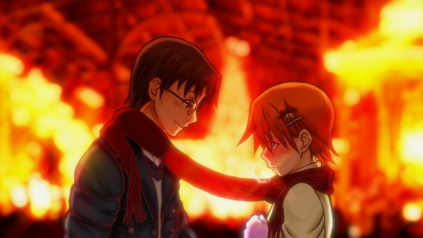 Tags: Anime, Pixiv Id 2884654, Working!!, Inami Mahiru, Takanashi Souta, HD Wallpaper, Facebook Cover, Wallpaper