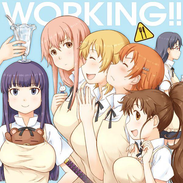 Tags: Anime, Takagi Hideaki, Working!!, Matsumoto Maya, Todoroki Yachiyo, Takanashi Kotori, Takanashi Souta, Yamada Aoi, Taneshima Popura, Inami Mahiru