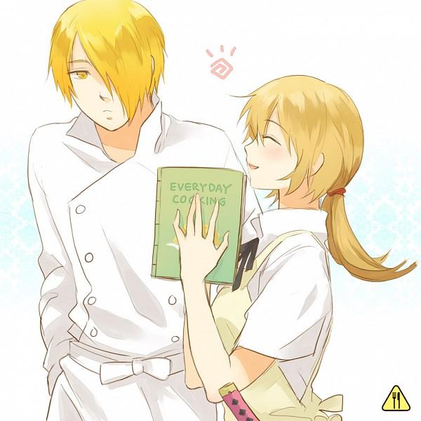 Tags: Anime, Hakumo, Working!!, Satou Jun, Todoroki Yachiyo, Chef Uniform