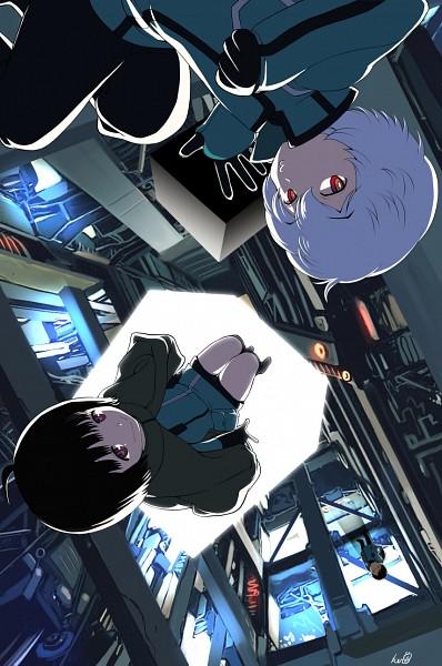 Tags: Anime, Pixiv Id 12140685, World Trigger, Amatori Chika, Mikumo Osamu, Kuga Yuuma, Fanart From Pixiv, Pixiv, Fanart, Mobile Wallpaper