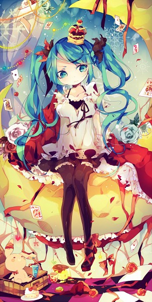 Tags: Anime, Ana (Rznuscrf), Project DIVA F 2nd, VOCALOID, Hatsune Miku, Upset, Single Shoe, Pudding, World is Mine, Fanart, Fanart From Pixiv, Pixiv, Project DIVA Supreme