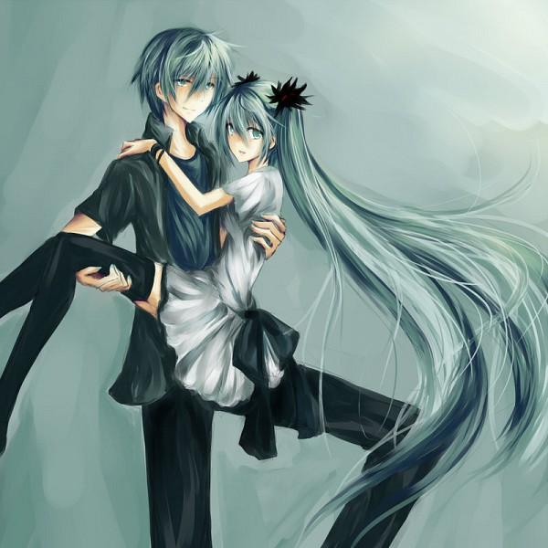 Tags: Anime, Project DIVA F 2nd, VOCALOID, Hatsune Miku, Hatsune Mikuo, Artist Request, World is Mine, Project DIVA Supreme