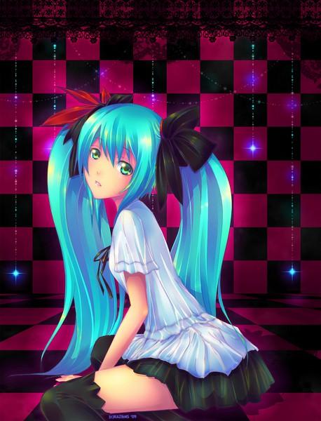 Tags: Anime, Project DIVA F 2nd, VOCALOID, Hatsune Miku, Project DIVA Supreme, Artist Request, deviantART, World is Mine