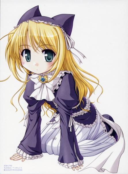 Tags: Anime, Yoake Mae yori Ruriiro na, Wreathlit Noel, Official Art