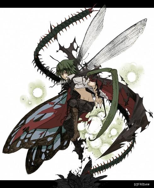 Tags: Anime, Bifrst, Touhou, Wriggle Nightbug, Fanart, Fanart From Pixiv, Pixiv