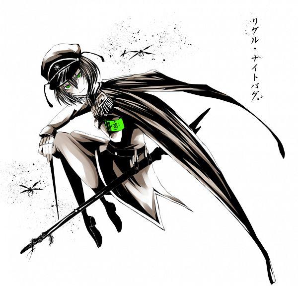Tags: Anime, K Step2009, Touhou, Wriggle Nightbug, Contemporary, Fanart, Pixiv, The Imperial Gensokyo Army