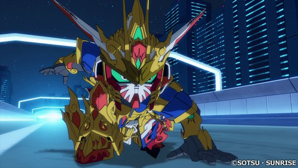 Tags: Anime, Sunrise (Studio), SD Gundam World Heroes, Wukong Impulse Gundam, Wallpaper, Twitter, Screenshot, Gundams