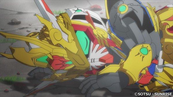 Tags: Anime, Sunrise (Studio), SD Gundam World Heroes, Wukong Impulse Gundam, Screenshot, Wallpaper, Twitter, Gundams
