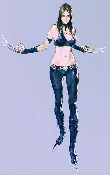 Tags: Anime, Masateru, X-23, Mobile Wallpaper, Marvel