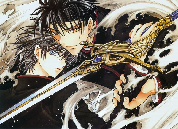 Tags: Anime, CLAMP, Geneon Pioneer, X, Official Art, Scan