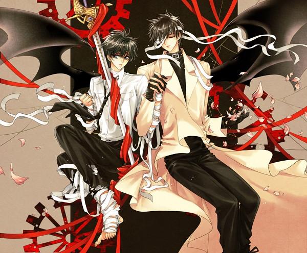 Tags: Anime, Saru (Pixiv1267140), Geneon Pioneer, X, Sumeragi Subaru (X), Shirou Kamui, Fanart From Pixiv, Fanart, Pixiv