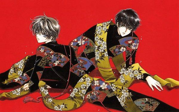 Tags: Anime, CLAMP, Geneon Pioneer, X, X Infinity, Shirou Kamui, Sumeragi Subaru (X), Official Art, Scan