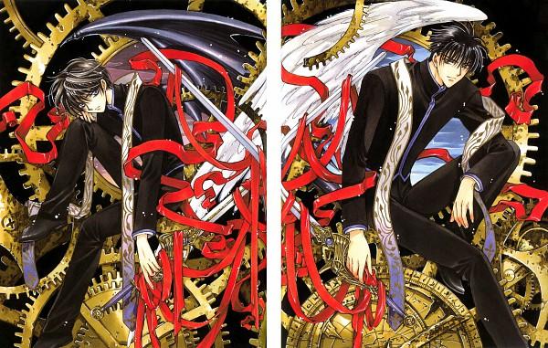 Tags: Anime, CLAMP, Geneon Pioneer, X, X Infinity, Monou Fuuma, Shirou Kamui, Symmetry, Scan, Official Art