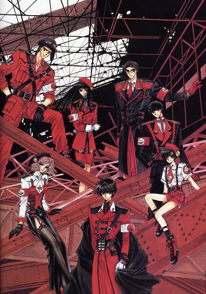 Tags: Anime, CLAMP, Geneon Pioneer, X, X Zero, Kishuu Arashi, Karen Kasumi, Arisugawa Sorata, Nekoi Yuzuriha, Shirou Kamui, Aoki Seiichirou, Sumeragi Subaru (X), Tokyo Tower